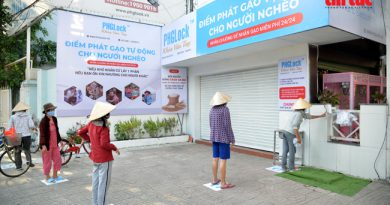 'ATM gạo' miễn phí dành cho người có hoàn cảnh khó khăn trong mùa dịch COVID-19